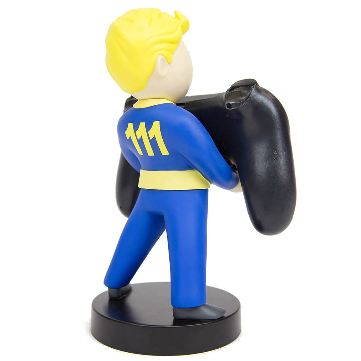 Cable Guys Fallout Collectable Vault Boy 111 8 Inch Cable Guy Controller and Smartphone Stand