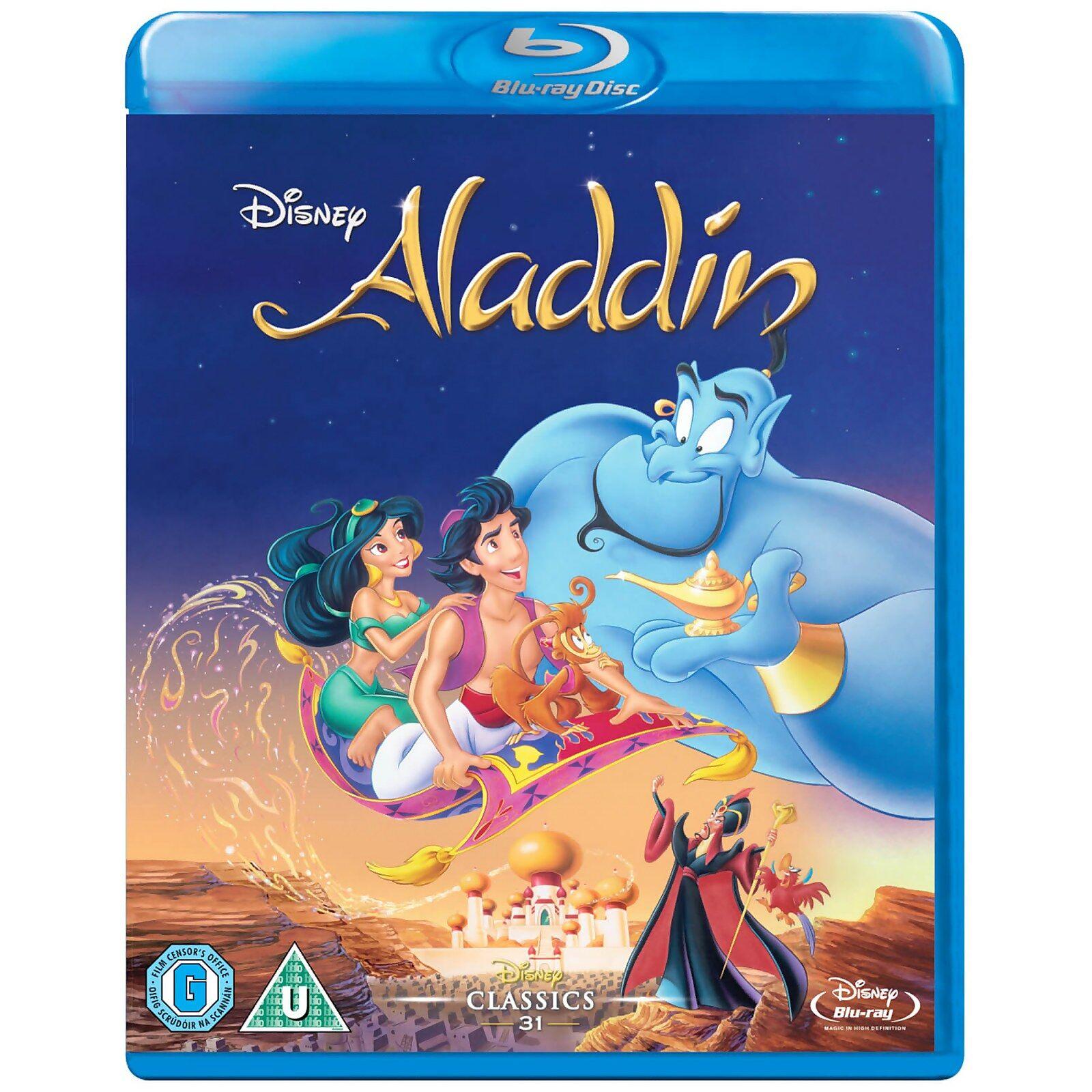 Aladdin Blu-ray DVD