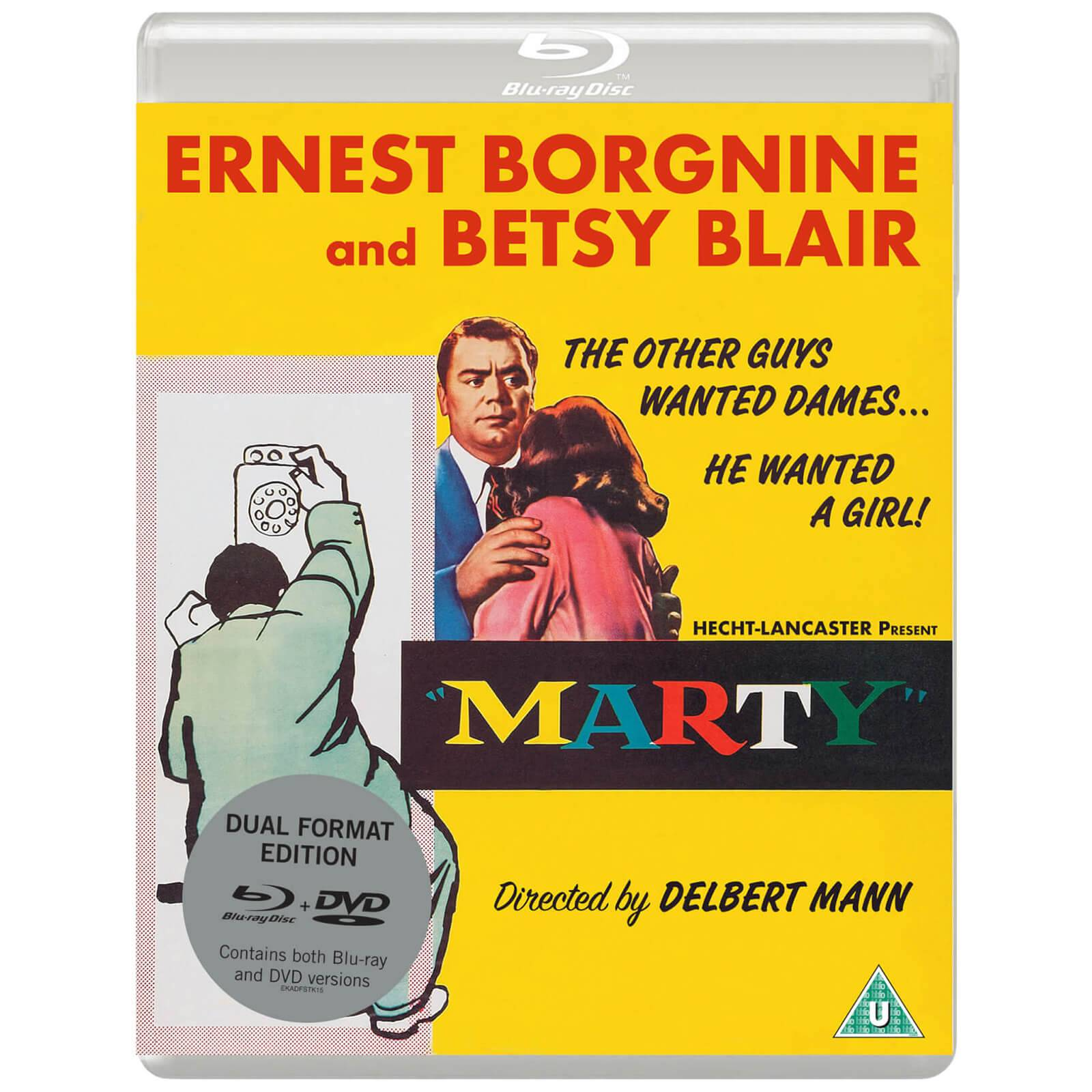 Marty - Dual Format (Blu-ray & DVD)