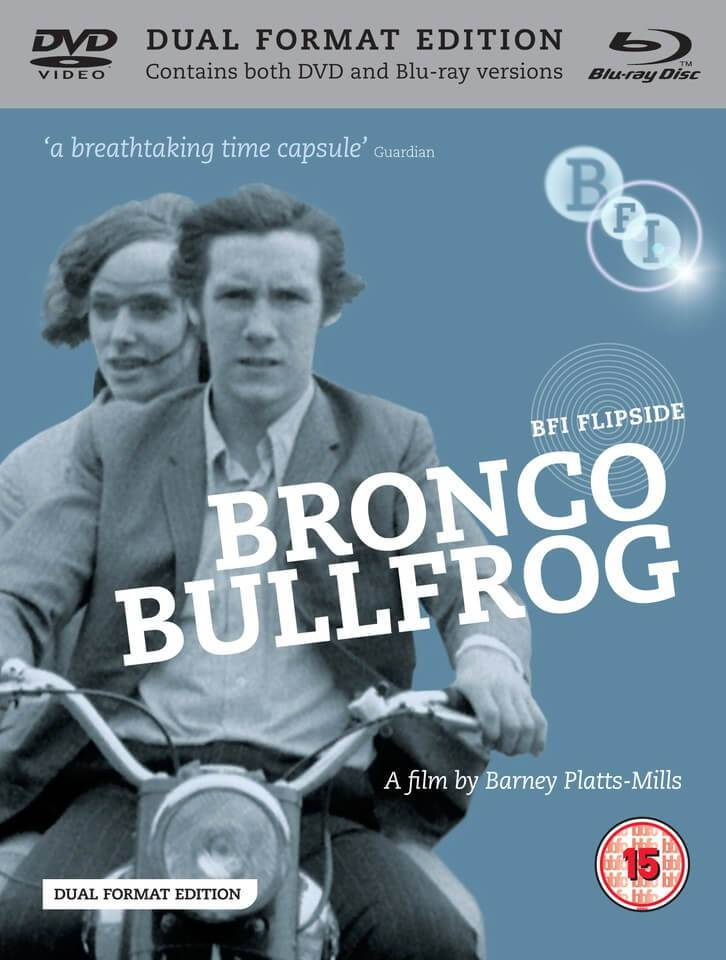 Bronco Bullfrog (Includes Blu-Ray and DVD Copy)