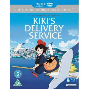 Kikis Delivery Service - Double Play (Blu-Ray and DVD)