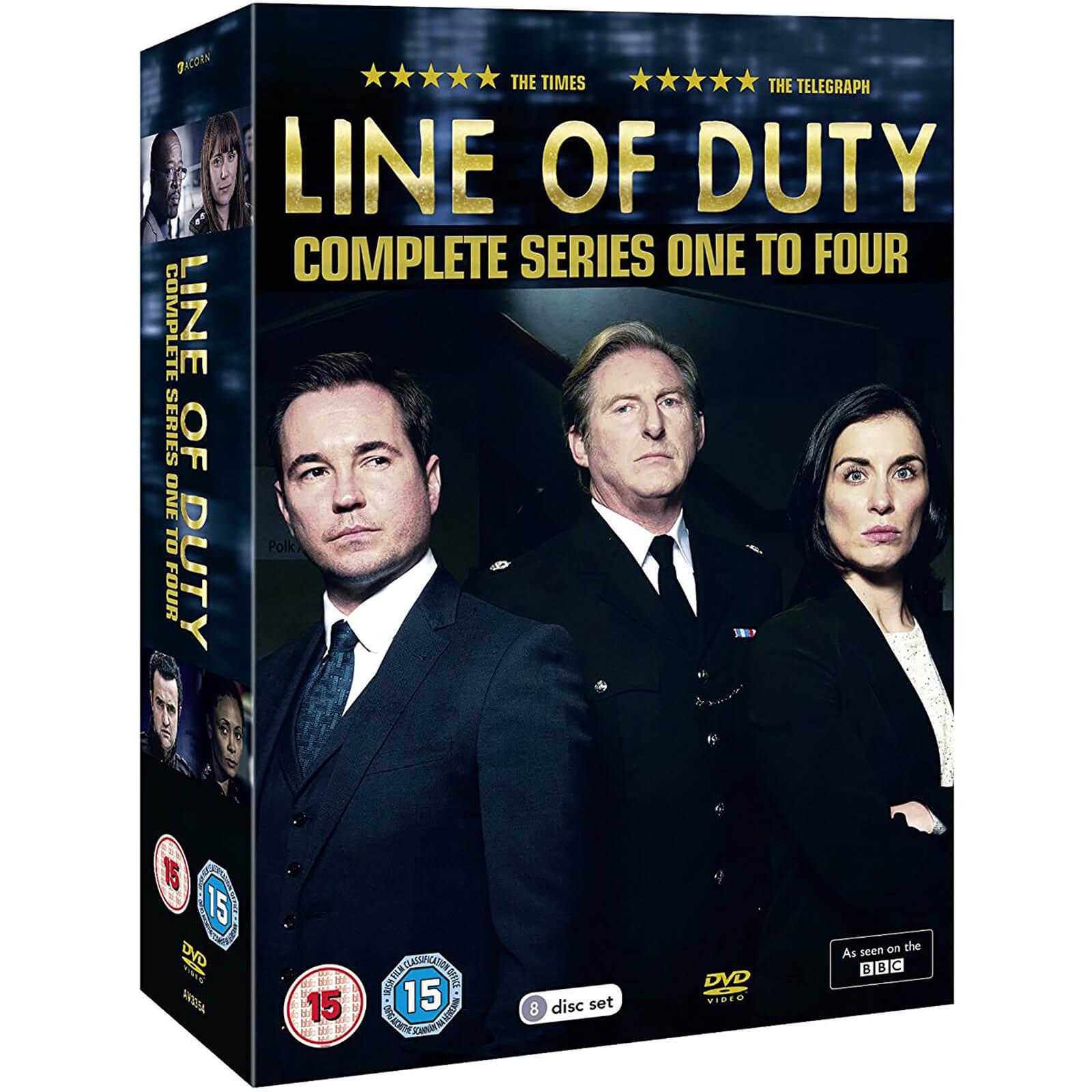 Spirit Entertainment Line of Duty - Series 1-4 Boxed Set