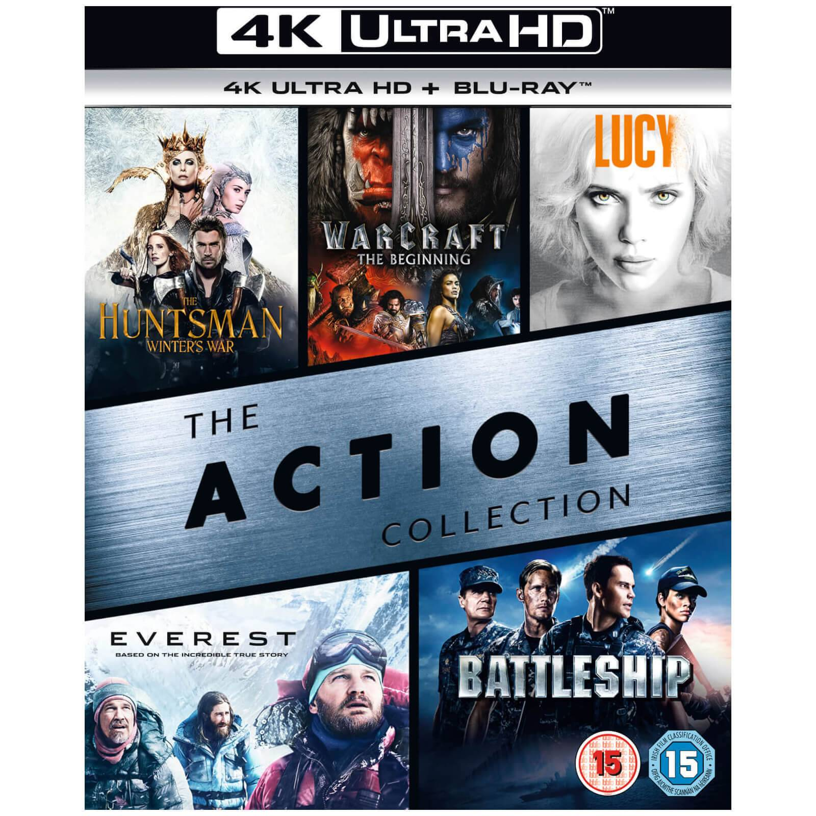 Universal Pictures 4K Action Box Set - 4K Ultra HD