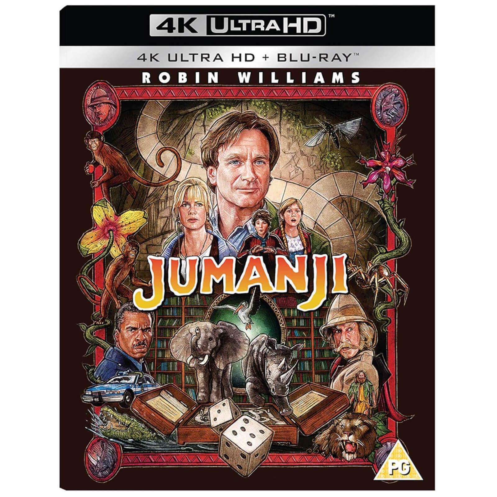 Sony Jumanji - 4K Ultra HD (Includes Blu-ray)