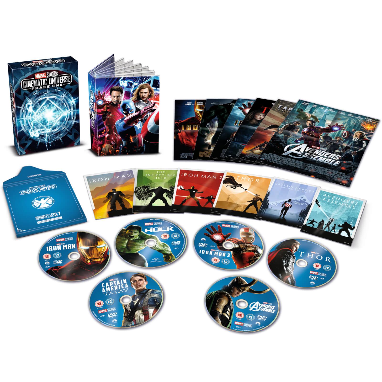 Disney Marvel Studios Collector's Edition Box Set - Phase 1