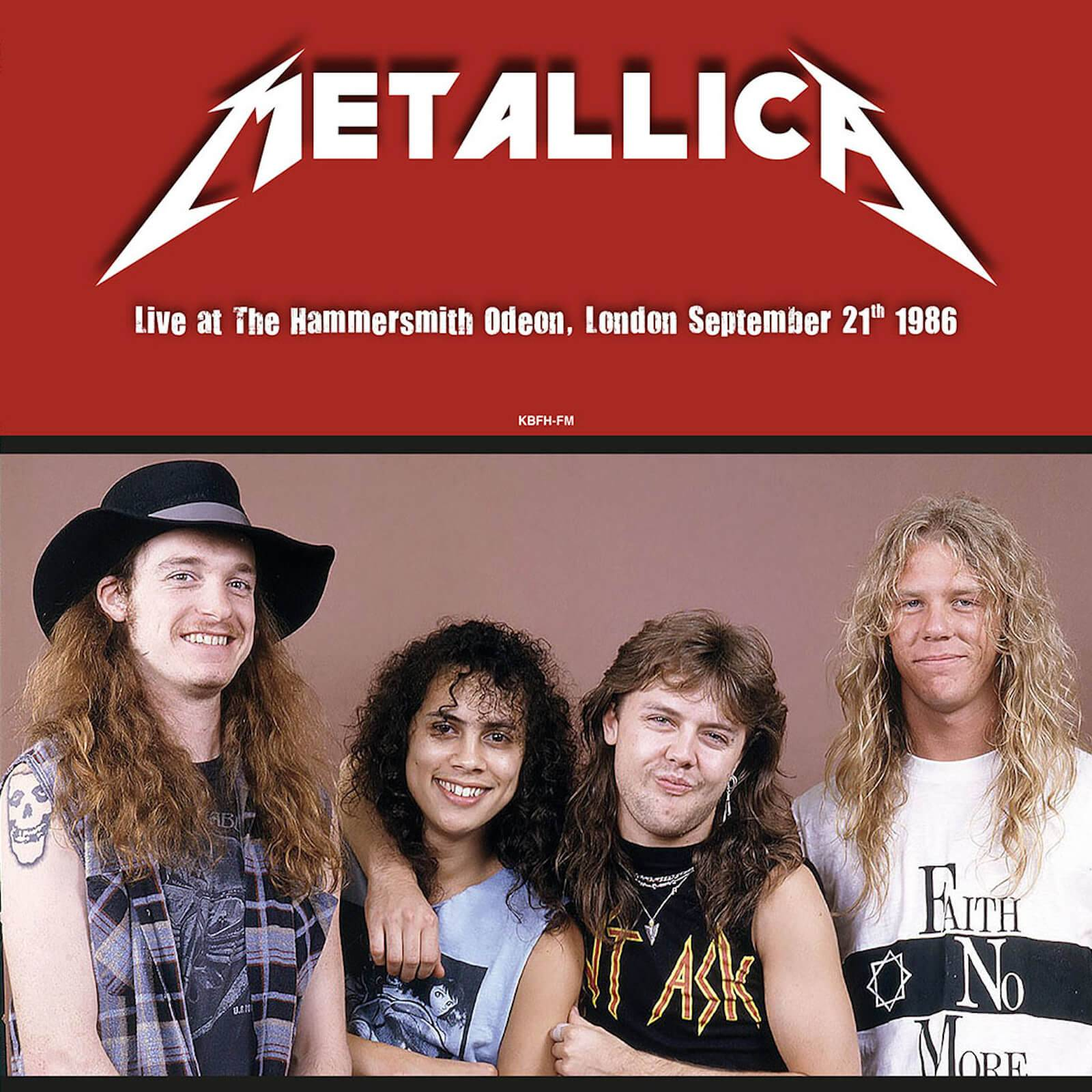 DOL Metallica - Live At The Hammersmith Odeon London September 21st 1986 (Red Vinyl)
