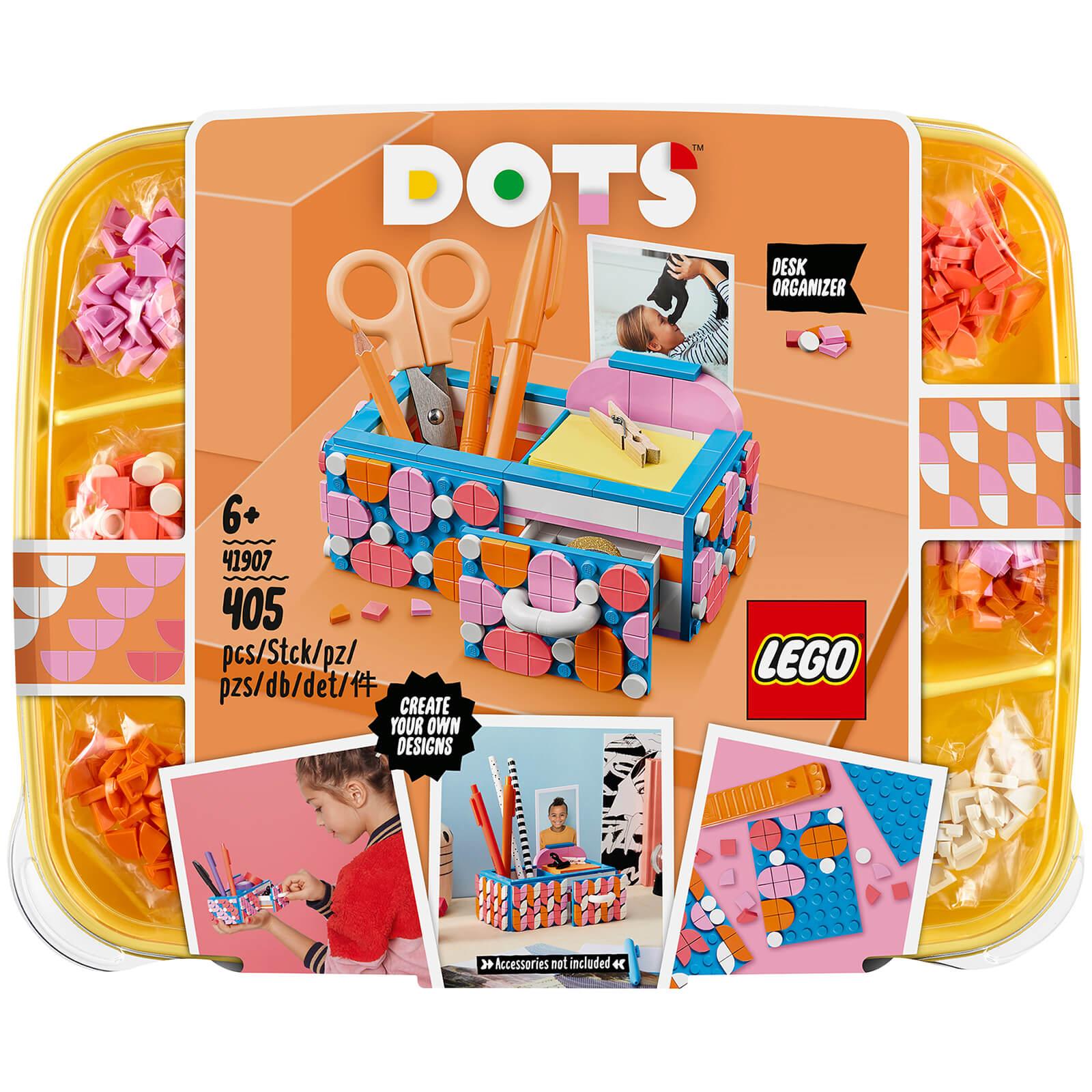 Lego DOTS: Desk Organiser DIY Arts & Crafts Set by LEGO (41907)