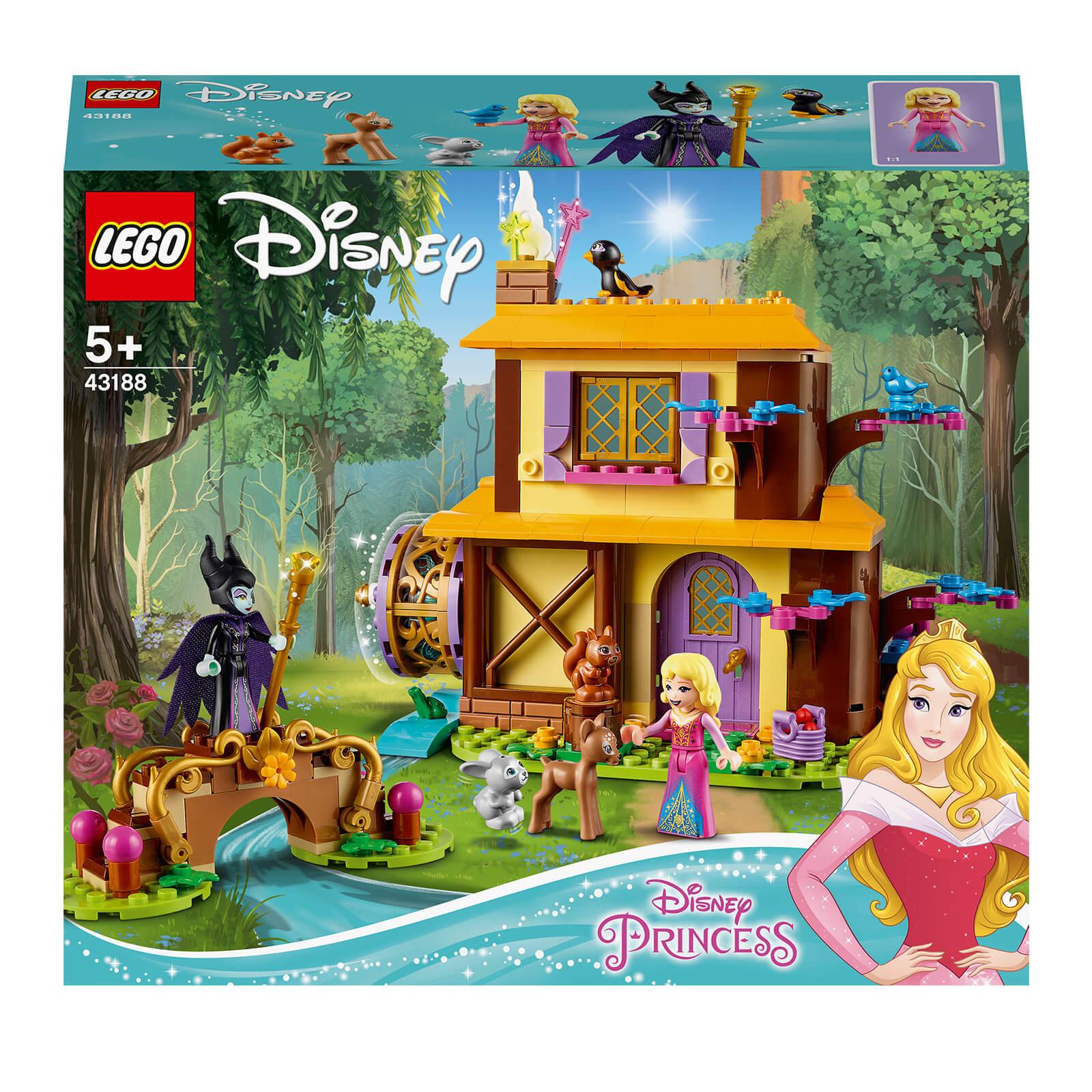 Lego Disney Princess: Aurora's Forest Cottage Playset (43188)