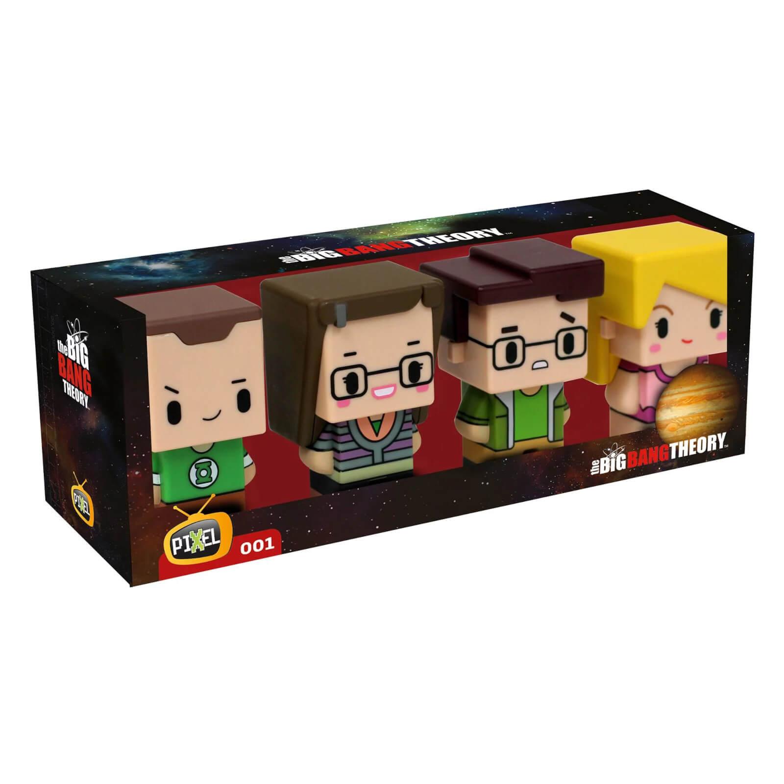 SD Toys Pixel Figure Big Bang Theory Set 4 Figures 7cm