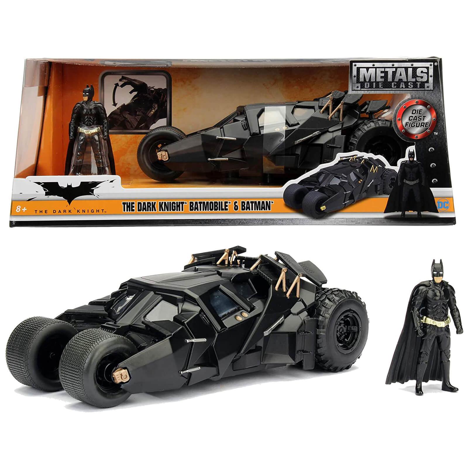 Jada Toys Batman The Dark Knight Batmobile 1:24