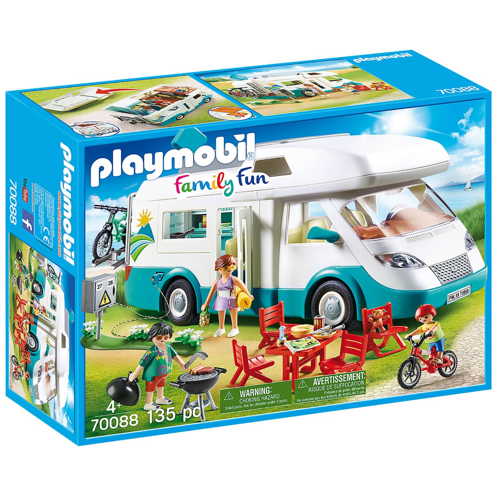 Playmobil Family Fun Family Camper (70088)