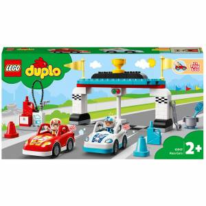 Lego DUPLO Town Race Cars Toy for Toddlers (10947)