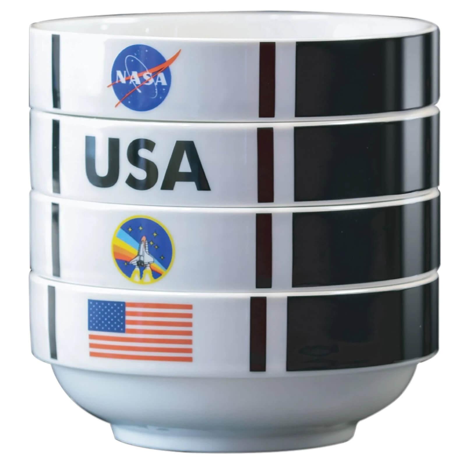 The Coop NASA Shuttle Stackable Bowl Set