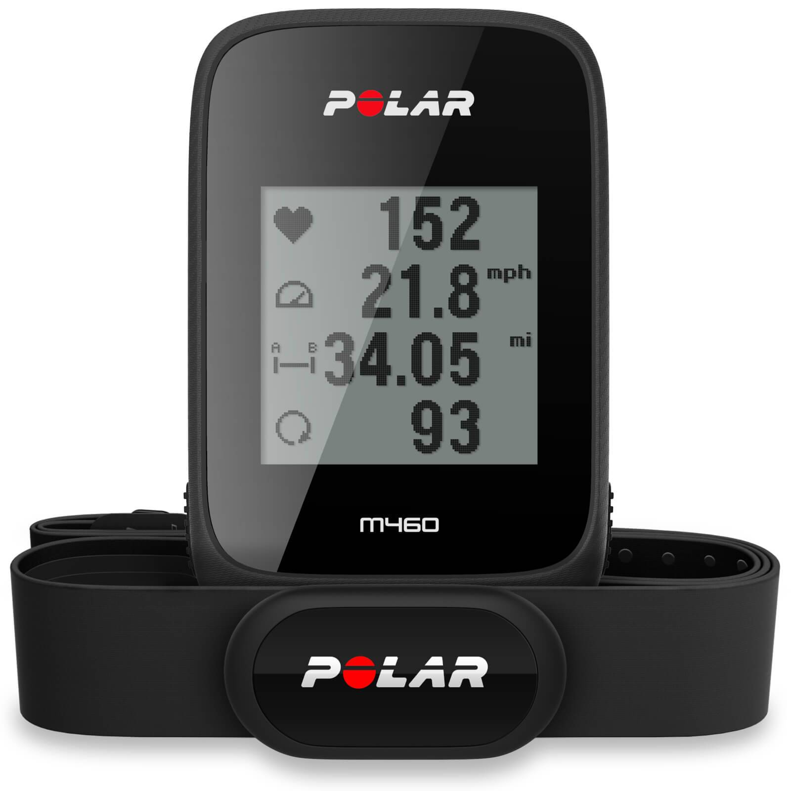 Polar M460 GPS Bike Computer with Heart Rate Monitor - Black;