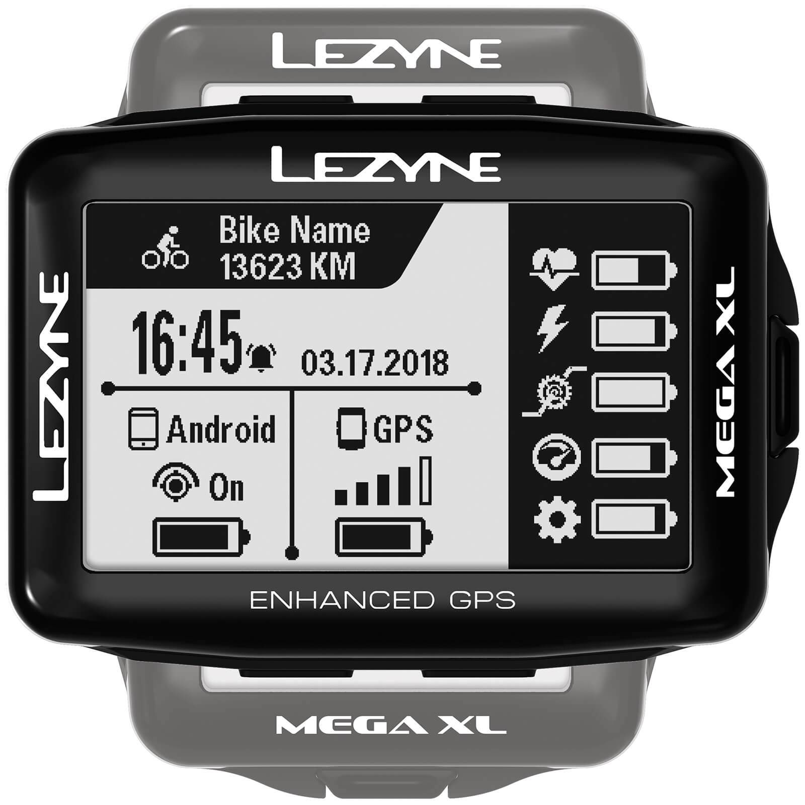 Lezyne Mega XL GPS Cycle Computer;