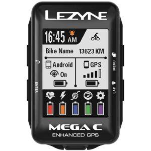 Lezyne Mega Colour GPS Cycle Computer Loaded Bundle;