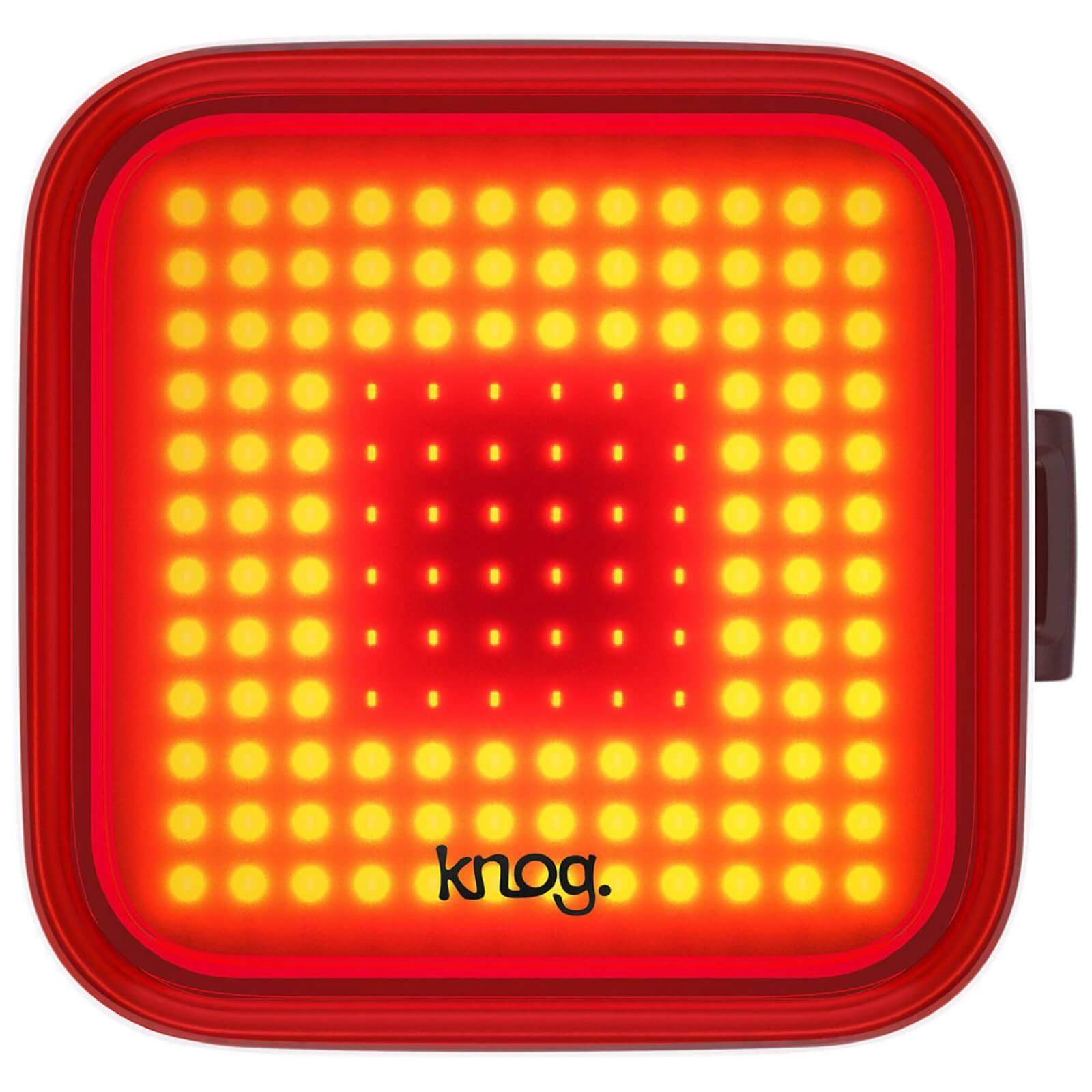 Knog Blinder Rear Light - Square - Black;