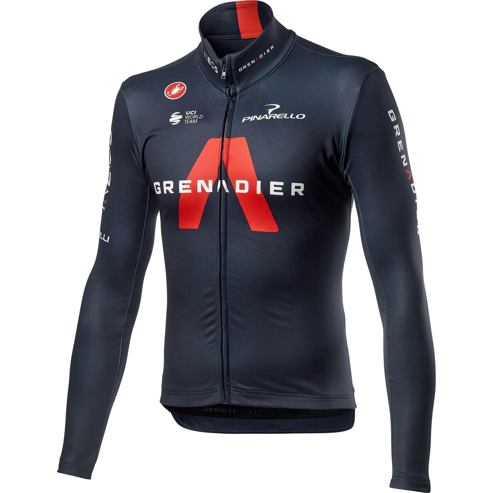Castelli Team Inoes Grenadier LS Thermal Jersey - S; male