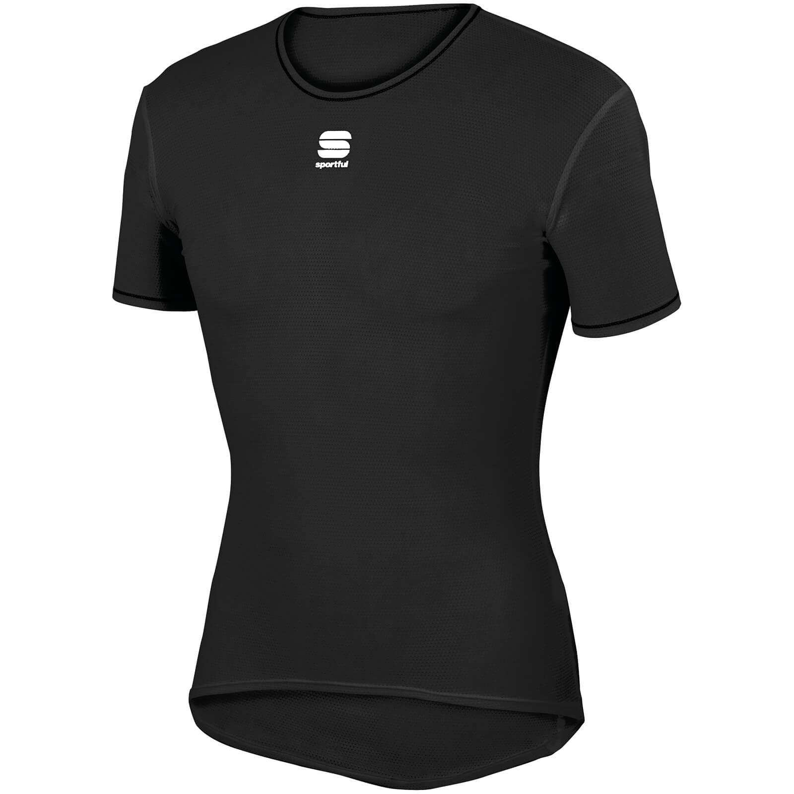 Sportful Thermodynamic Lite T-Shirt Baselayer - L - Black