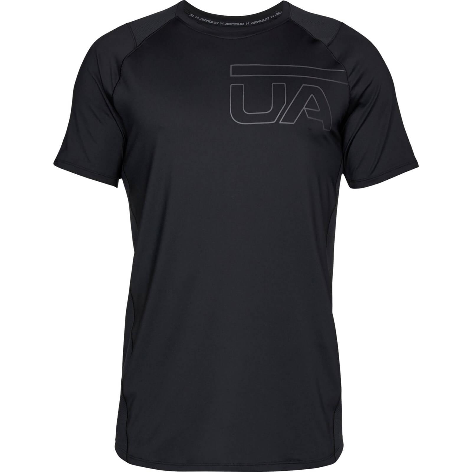 Under Armour Men's MK1 Graphic T-Shirt - Black - L - Black