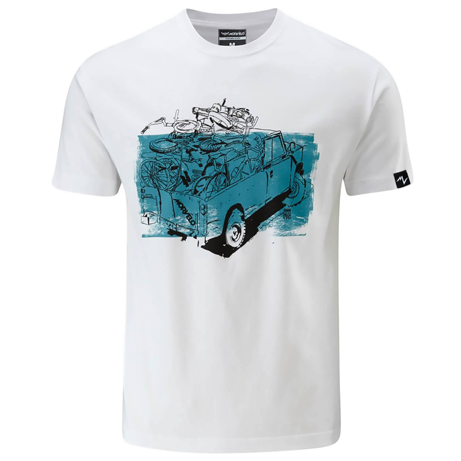 Morvelo T-Shirt - Black - XL - Black
