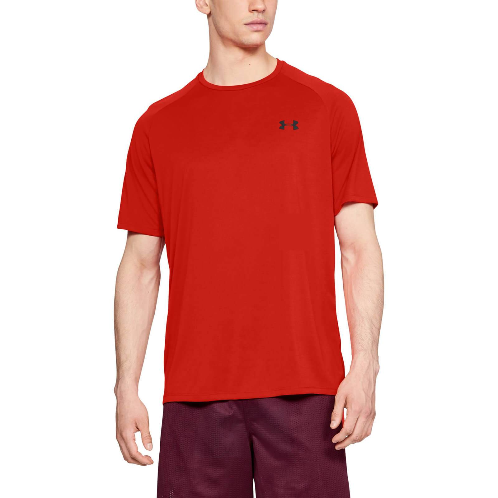 Under Armour Tech T-Shirt - Red - M - Red