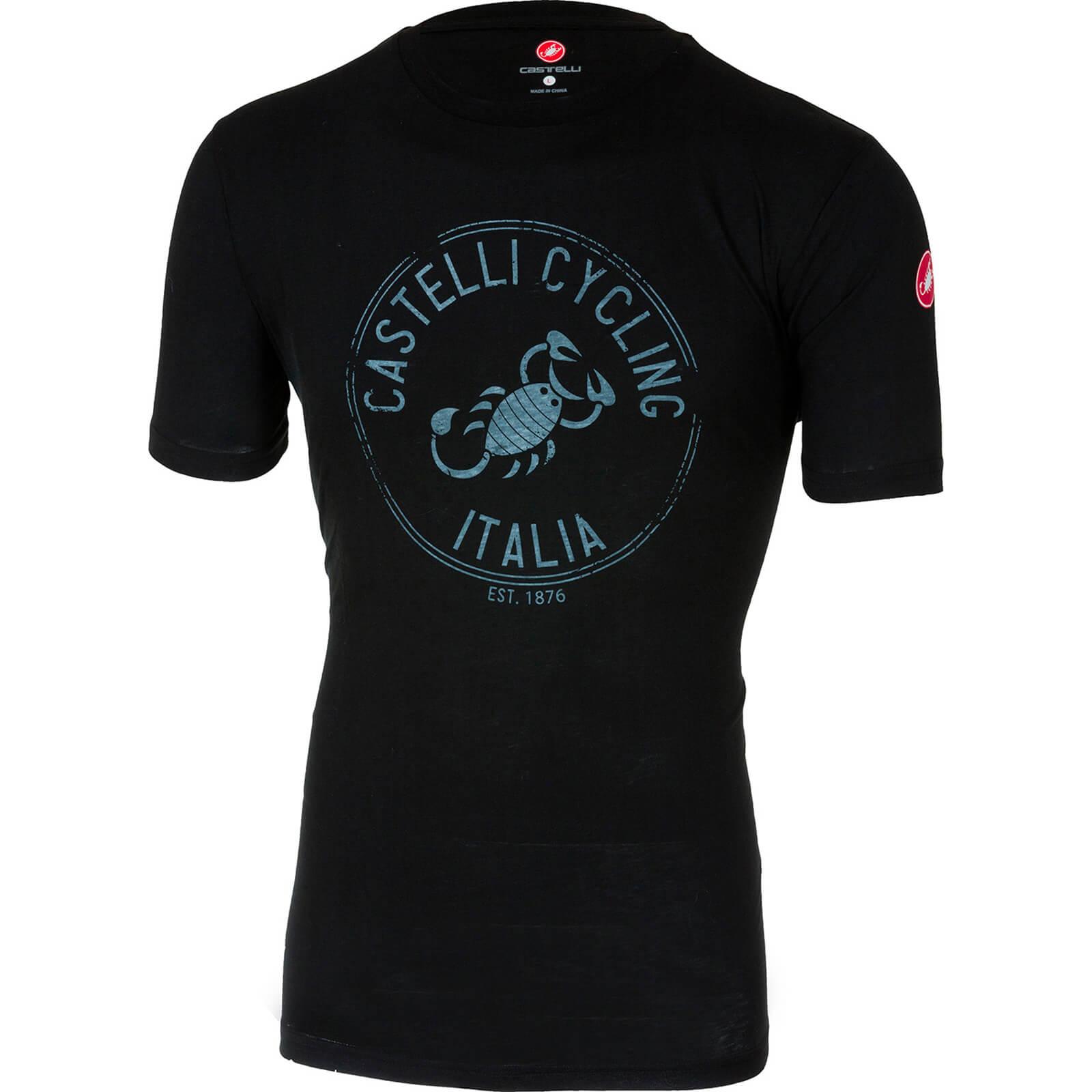 Castelli Armando T-Shirt - M - Vintage Black