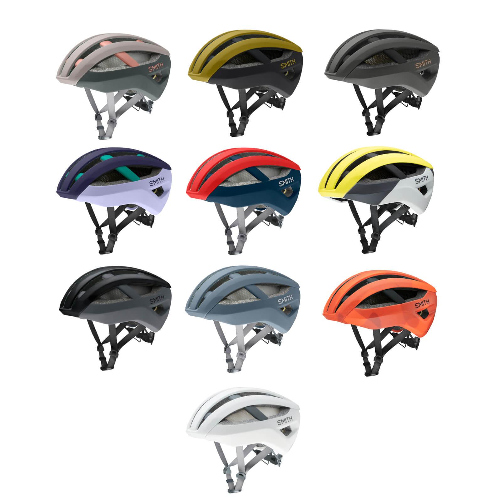 Smith Network MIPS Road Helmet - Large - Black - Matte Cement; unisex
