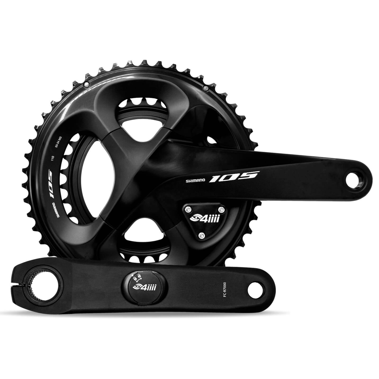 4iiii Precision Pro Dual Sided Power Meter - 105 R7000 - 175mm - 53-39T;