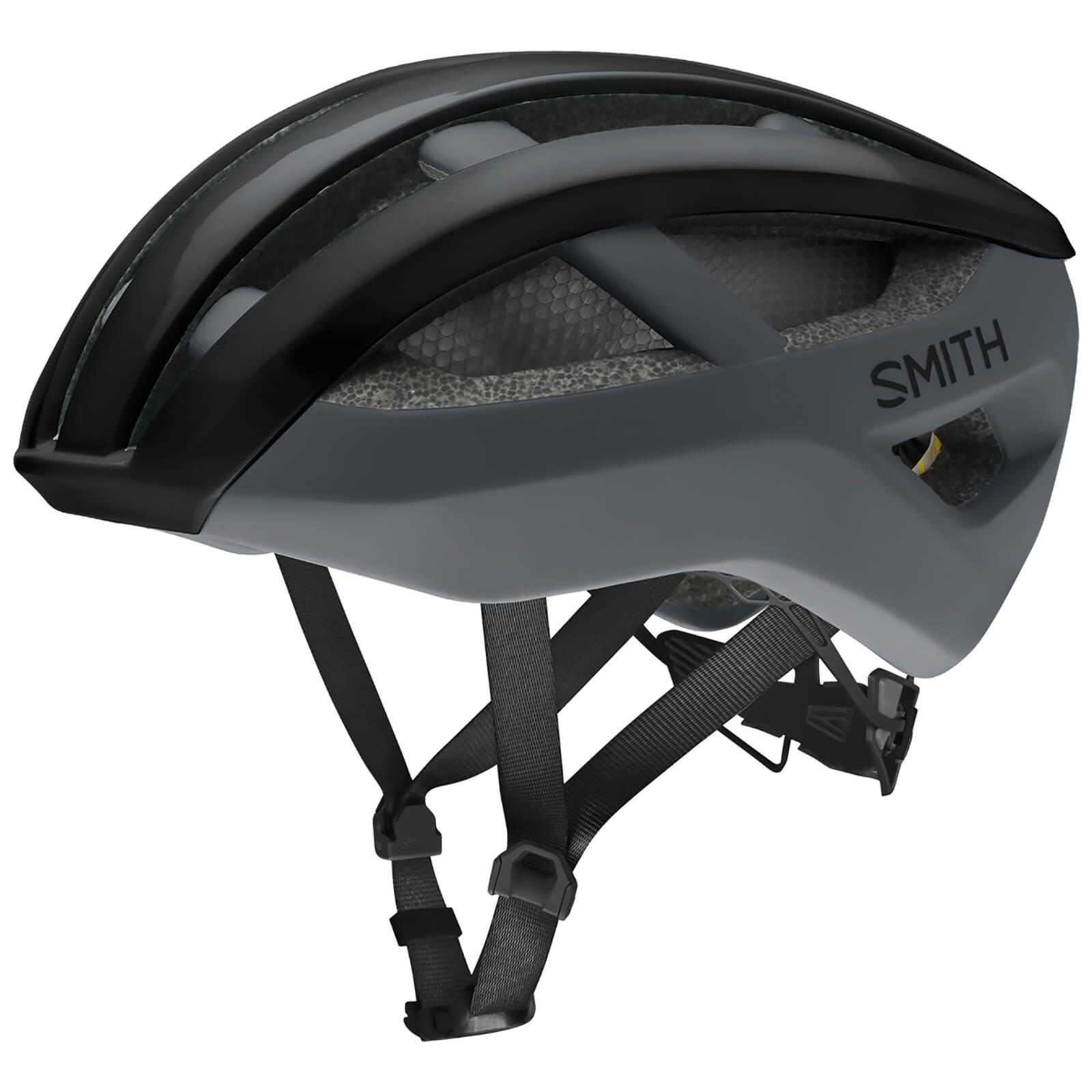 Smith Network MIPS Road Helmet - Small - Black - Matte Cement; unisex