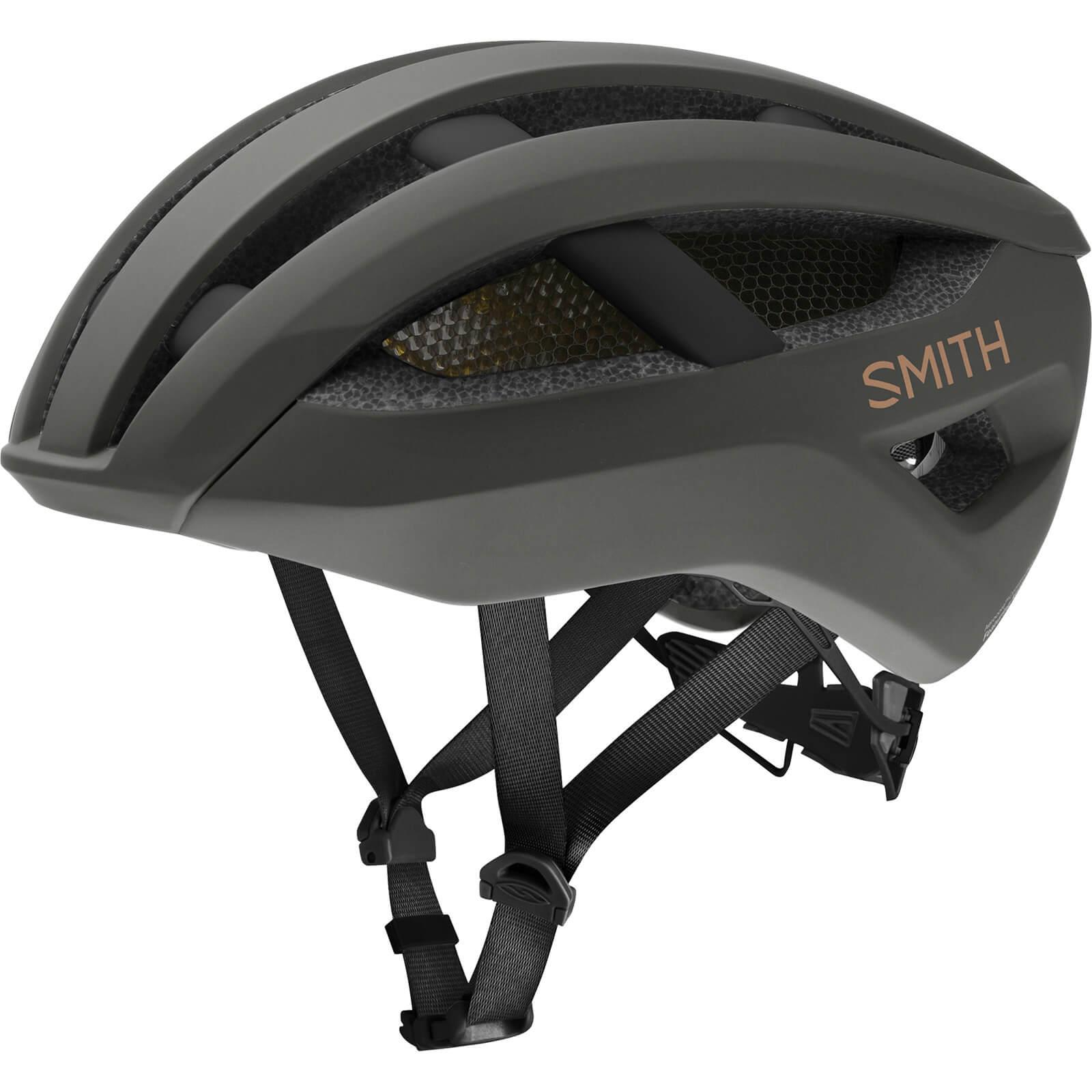 Smith Network MIPS Road Helmet - Large - Brown; unisex
