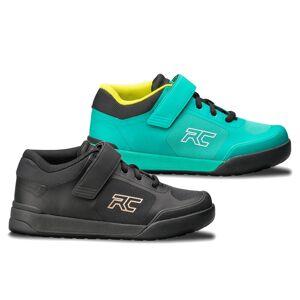 Ride Concepts Women's Traverse SPD MTB Shoes - UK 8/EU 40 - Teal/Lime; female