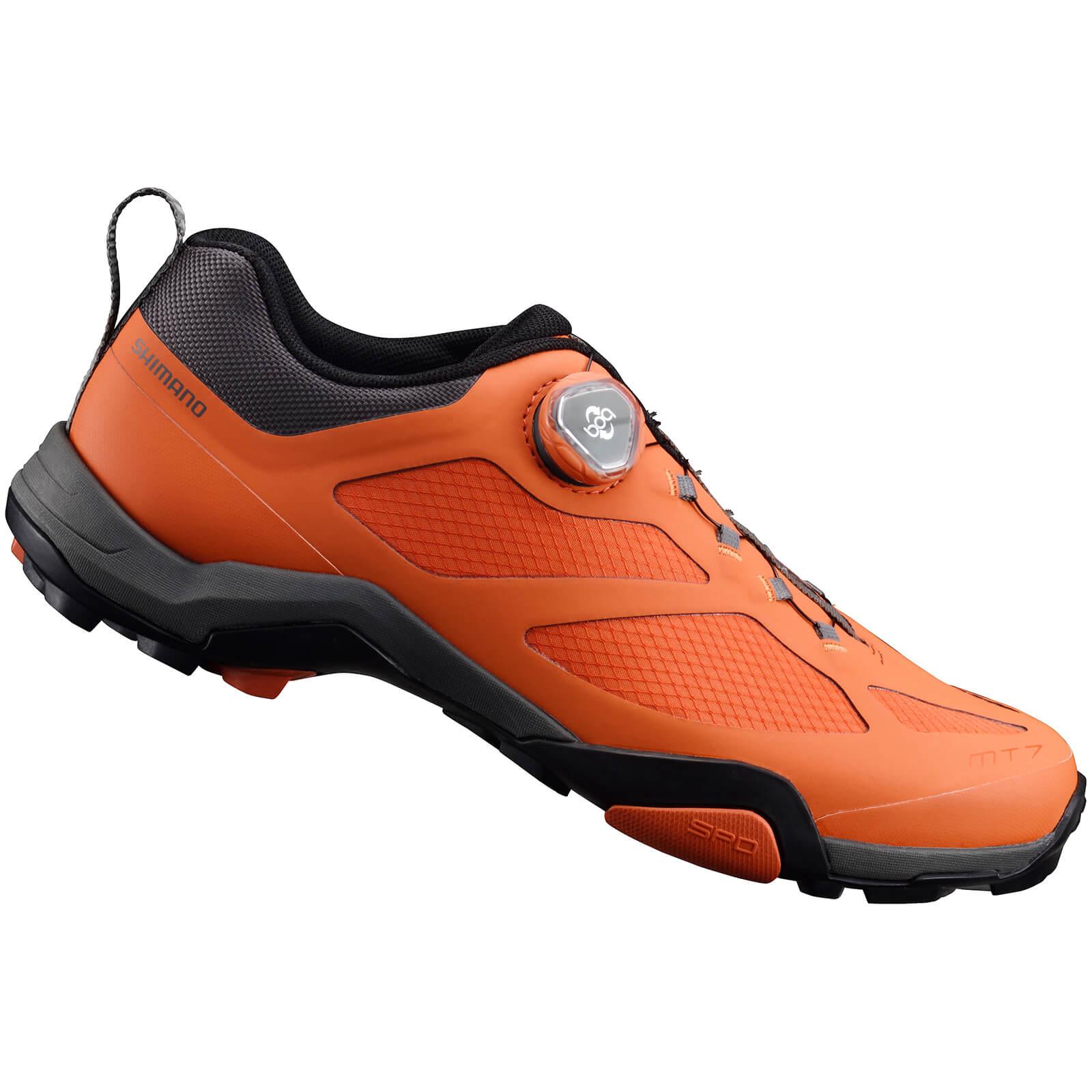 Shimano MT7 MTB Shoes - Orange - UK 12/EU 48 - Orange