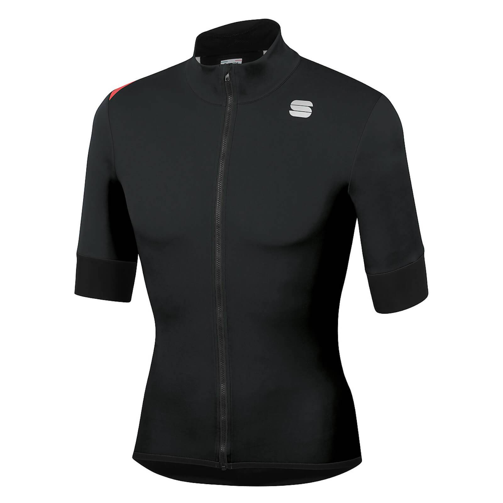 Sportful Women's Fiandre Light NoRain Short Sleeve Jacket - M - Black; female