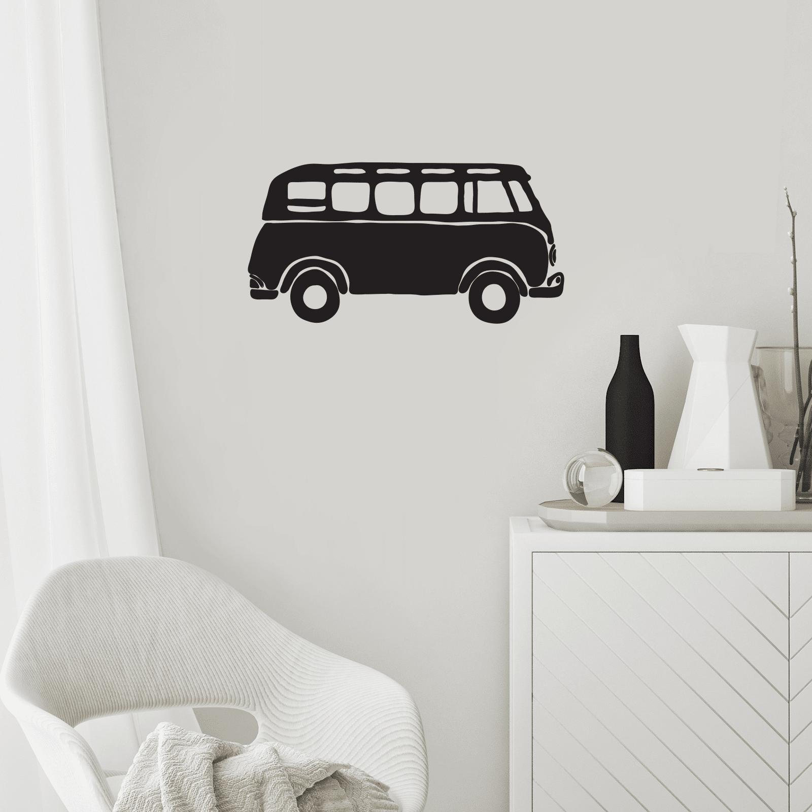 By IWOOT Camper Van Wall Decal-