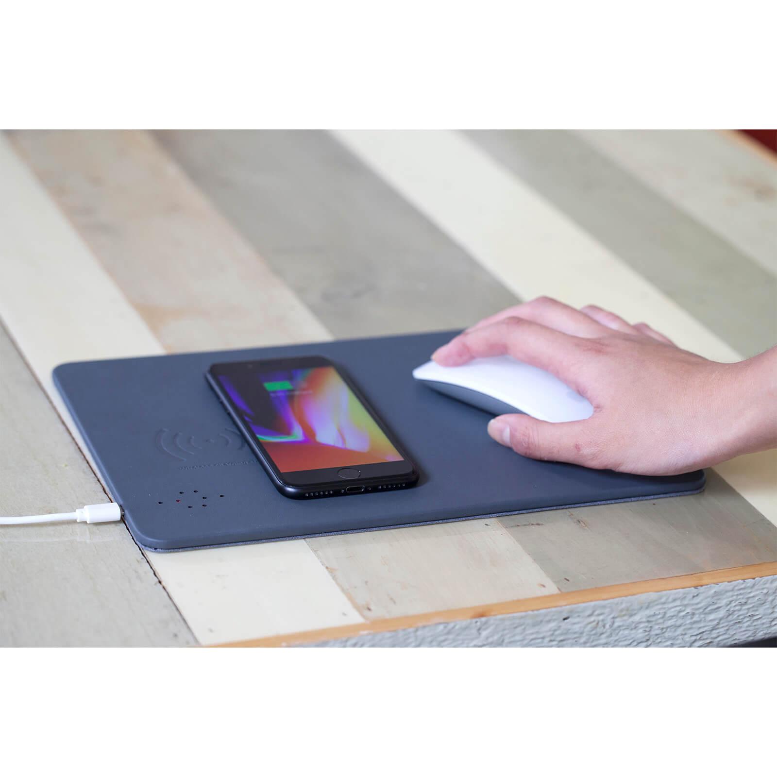 Kikkerland Wireless Charging Mouse Pad-unisex