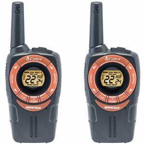 Cobra SM662C Walkie Talkie with 8km Range, Power Saving Function and Rechargeable Batteries-