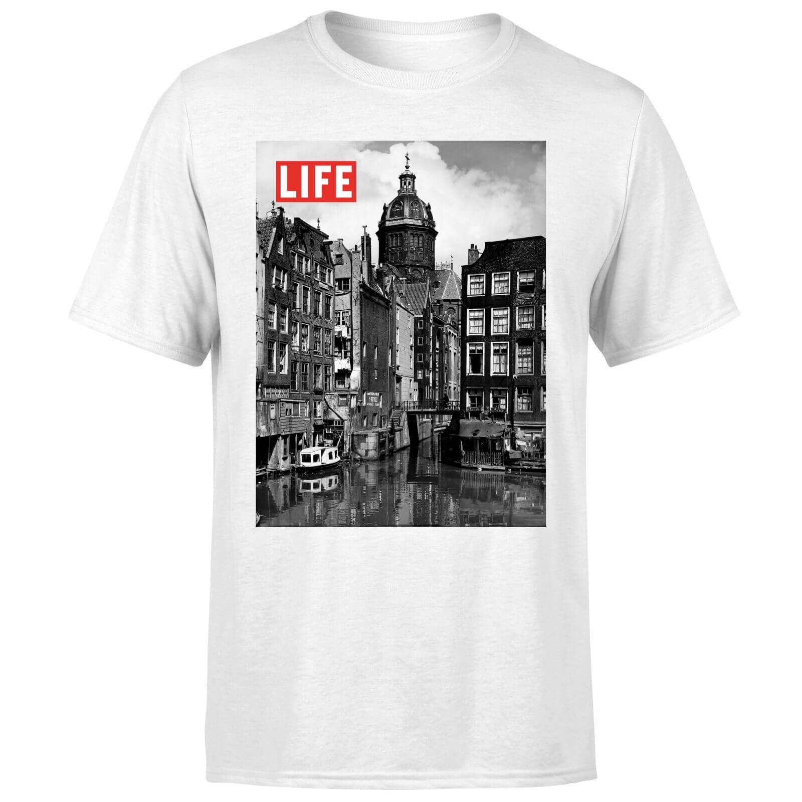LIFE Magazine City Life Men's T-Shirt - White - XXL - White-male