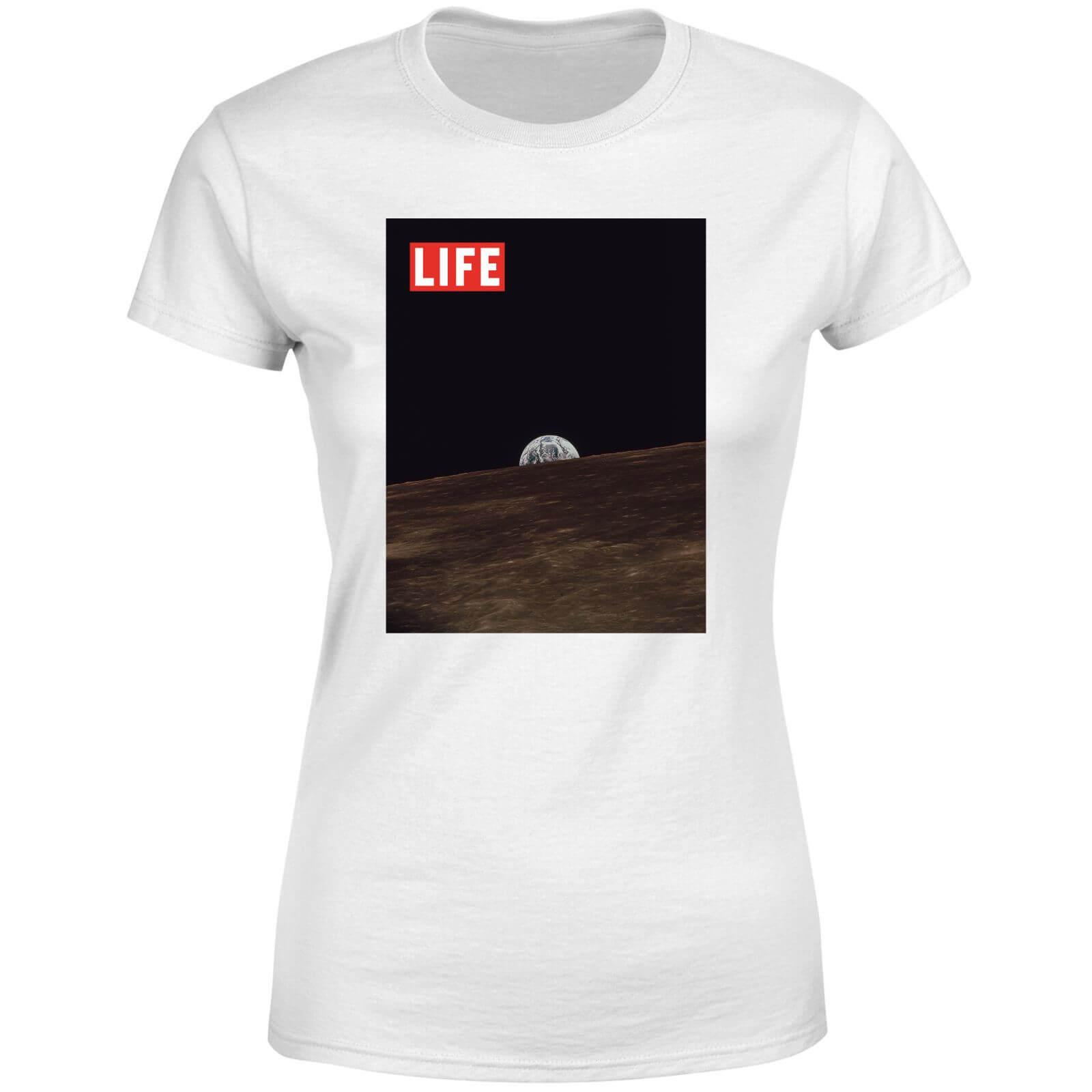 LIFE Magazine Moon Women's T-Shirt - White - M - White-female