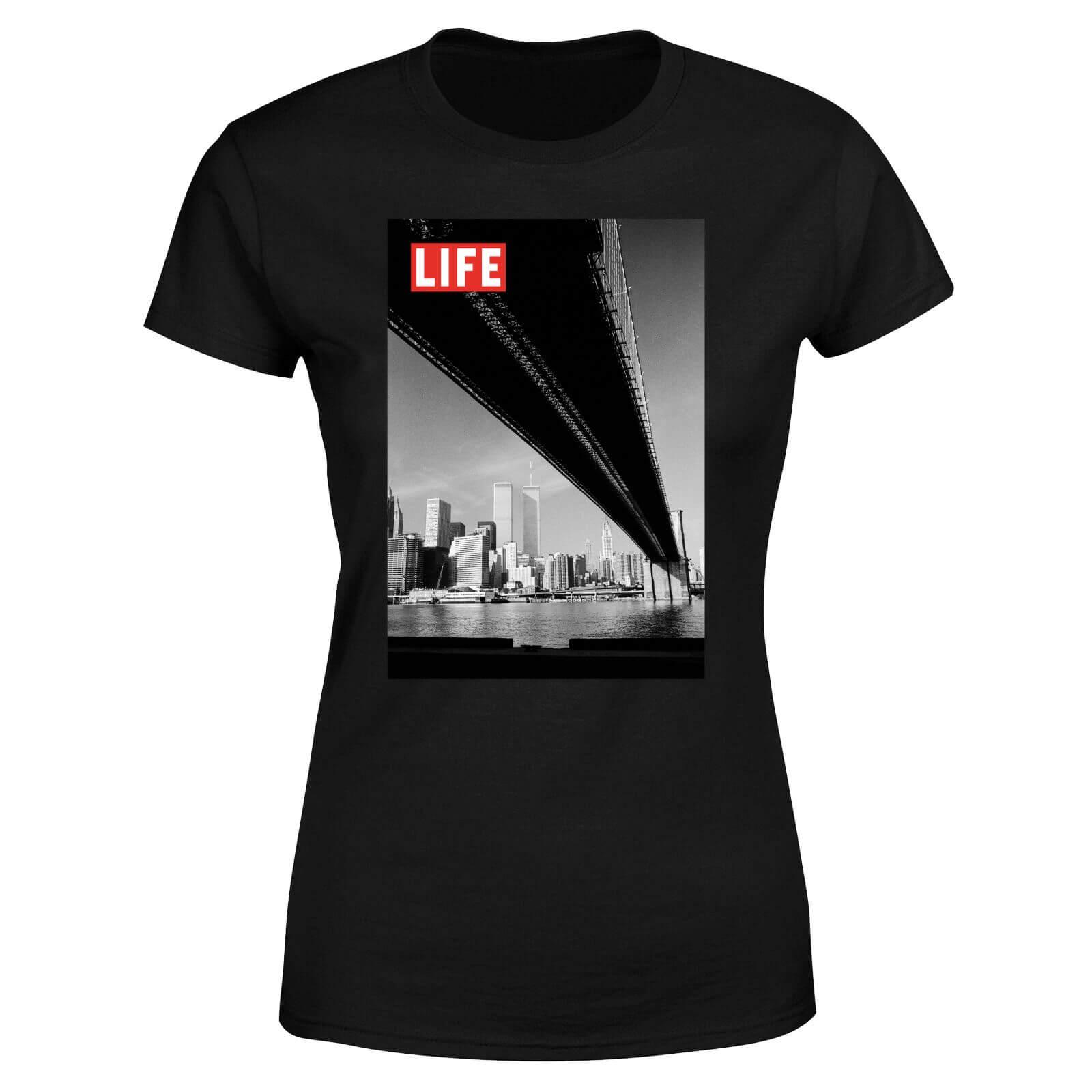 LIFE Magazine Bridge Women's T-Shirt - Black - L - Black-female
