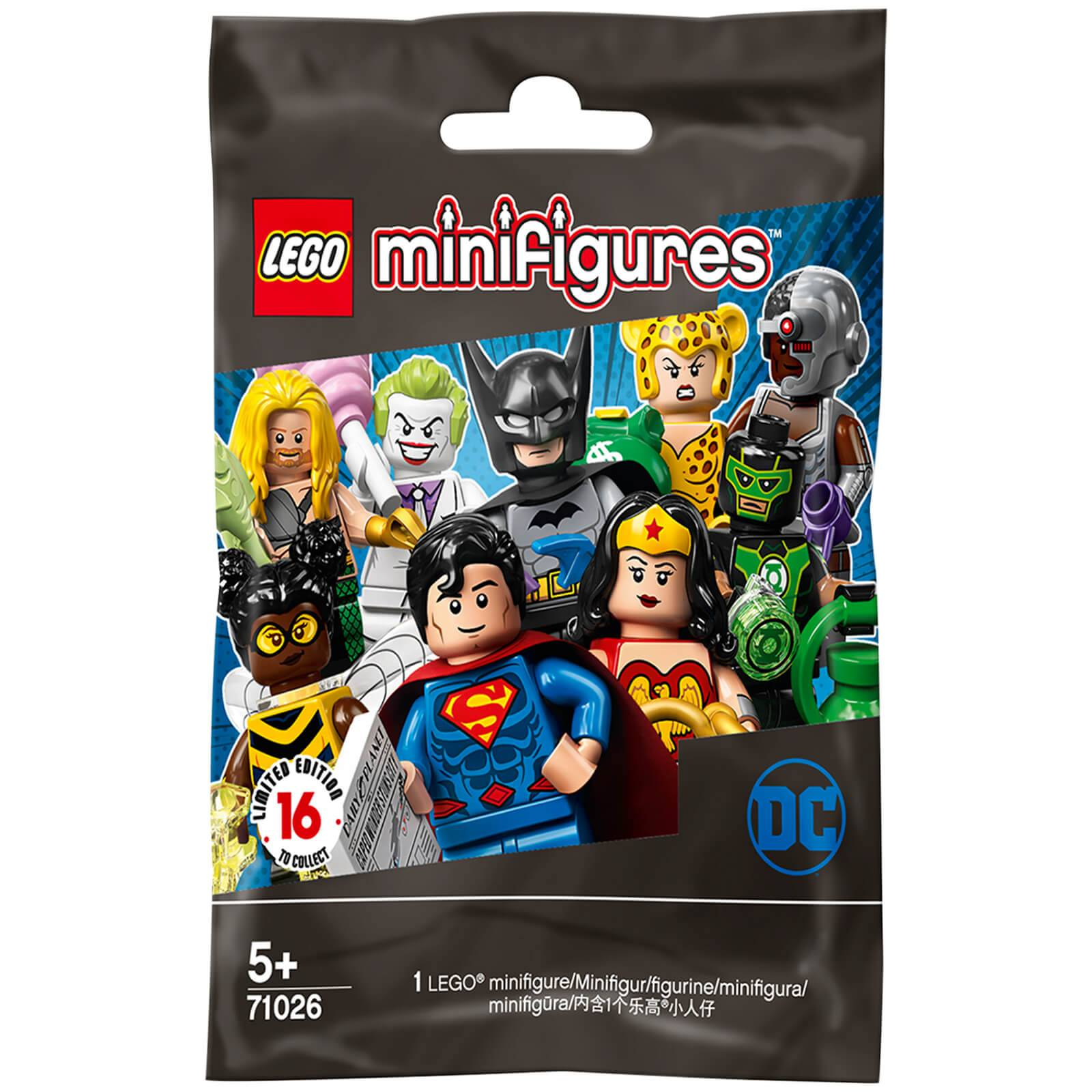 Lego Minifigures: DC Super Heroes: Series (71026)-unisex