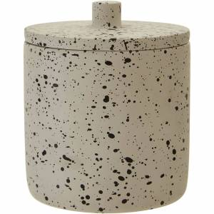 Premier Housewares Gozo Concrete Storage Jar-female