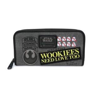 Loungefly Star Wars Rebel Wookie Patch Wallet-unisex