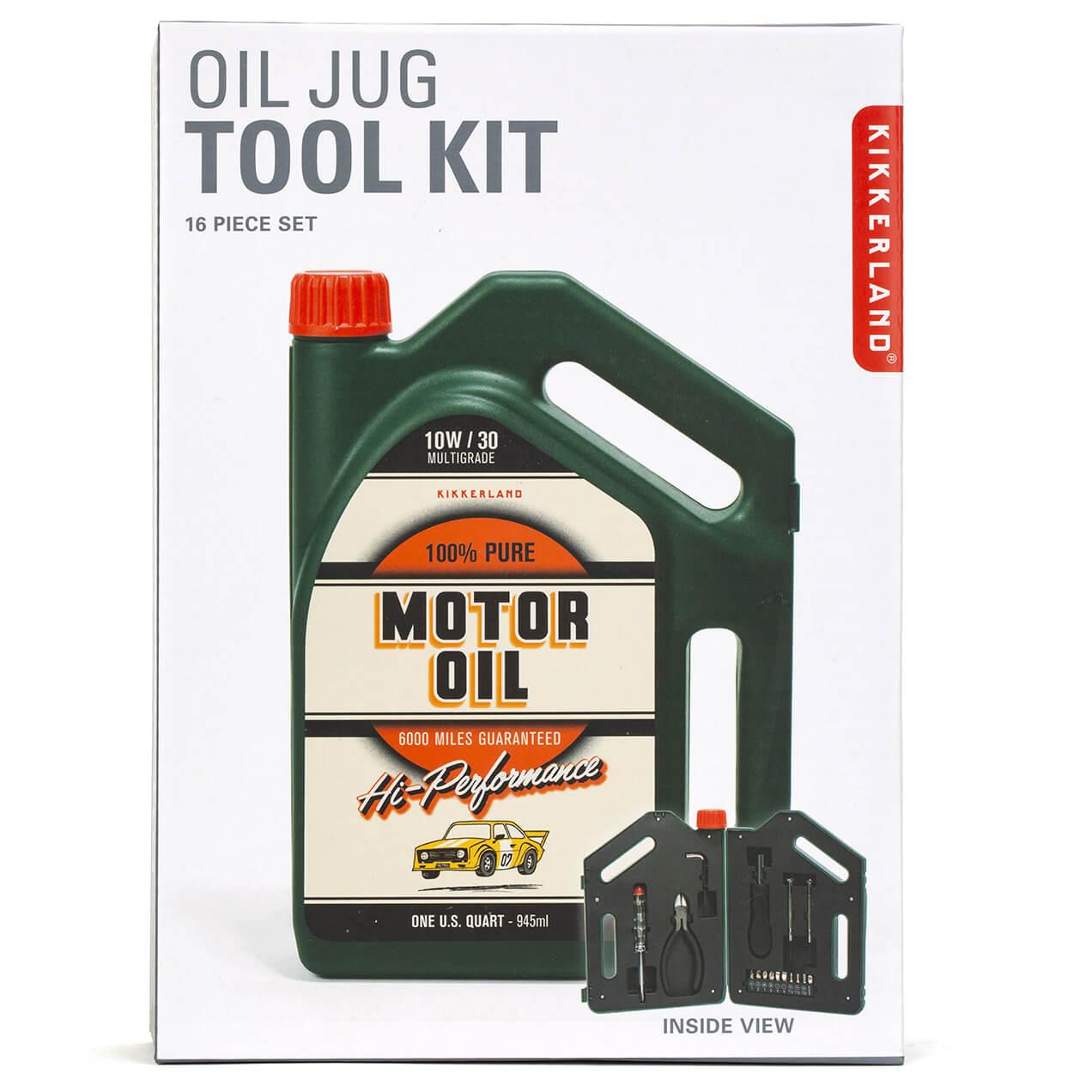 Kikkerland Oil Jug Tool Kit-male