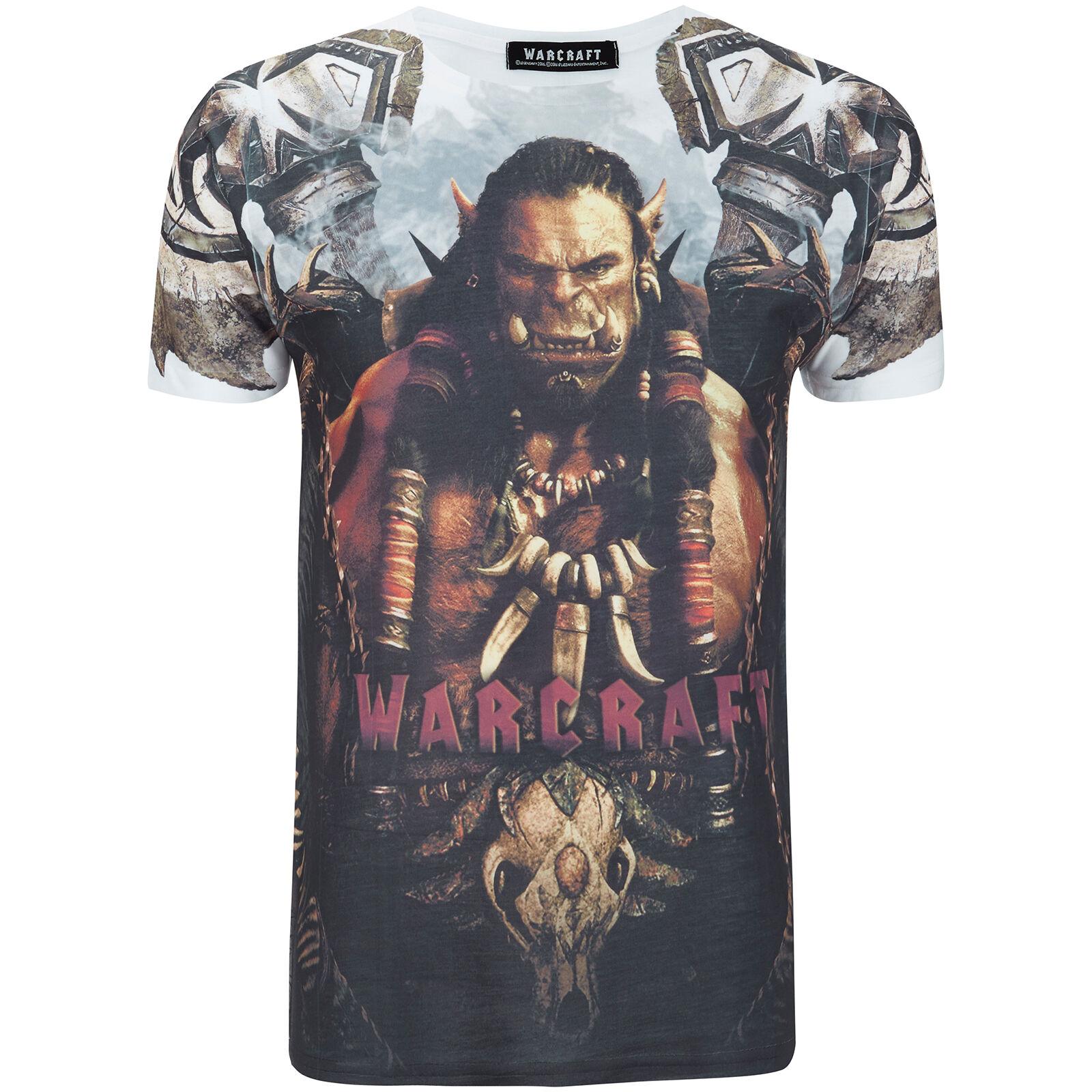 Geek Clothing Warcraft Men's Durotan T-Shirt - White - S - White