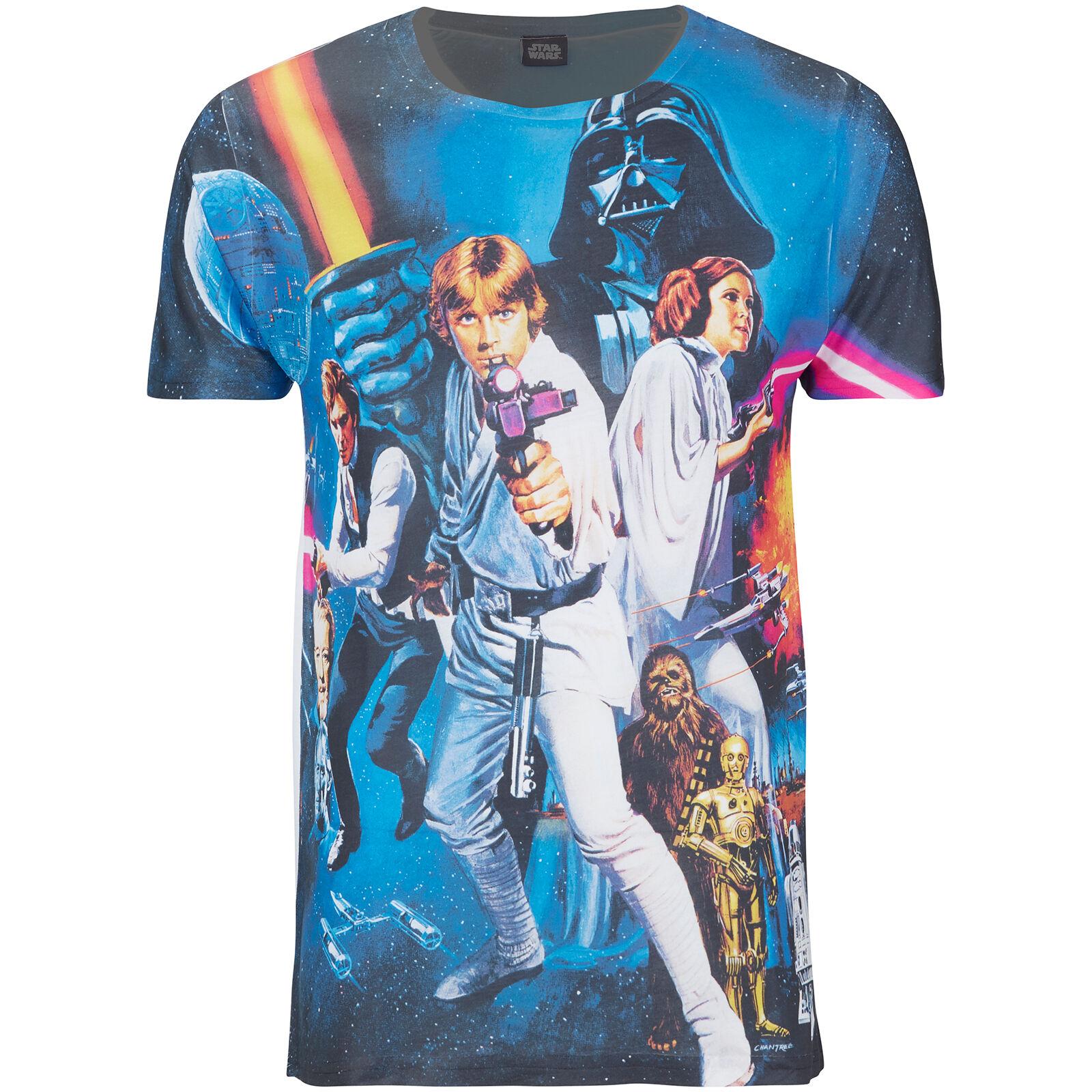 Geek Clothing Star Wars Men's Classic Poster T-Shirt - Black - M - Black