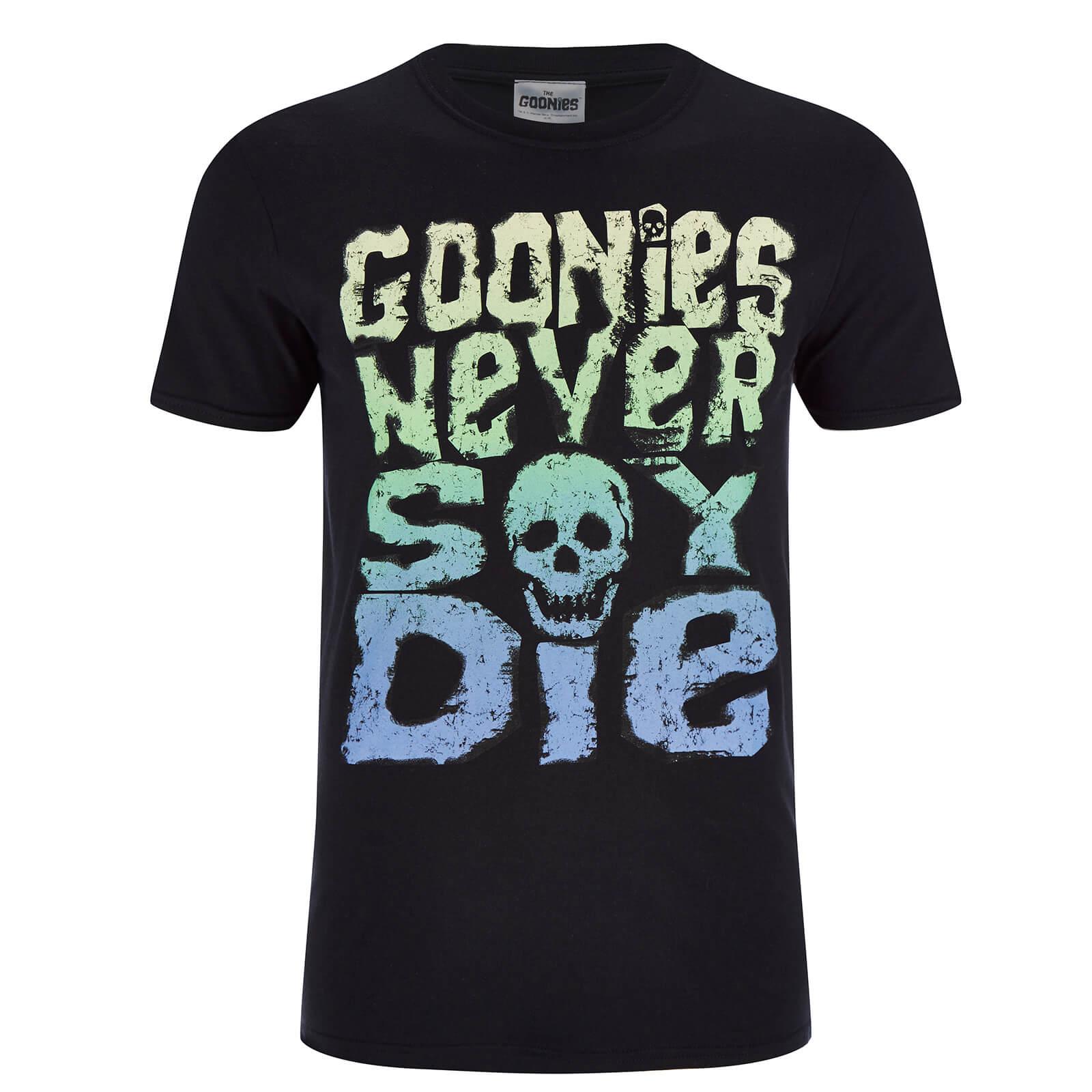 Geek Clothing Goonies Men's Never Say Die T-Shirt - Black - S - Black