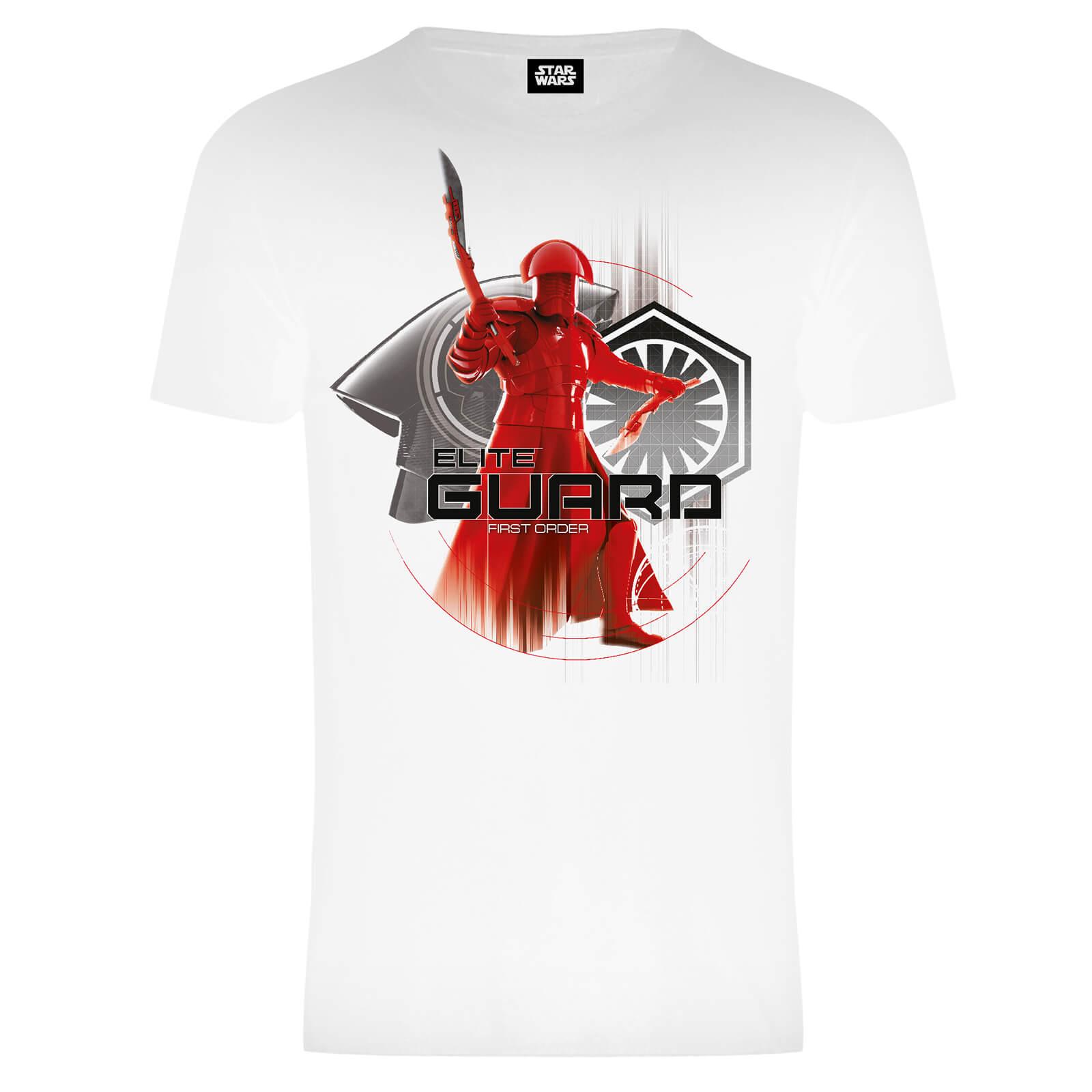 Geek Clothing Star Wars Men's The Last Jedi Elite Guard T-Shirt - White - XXL - White