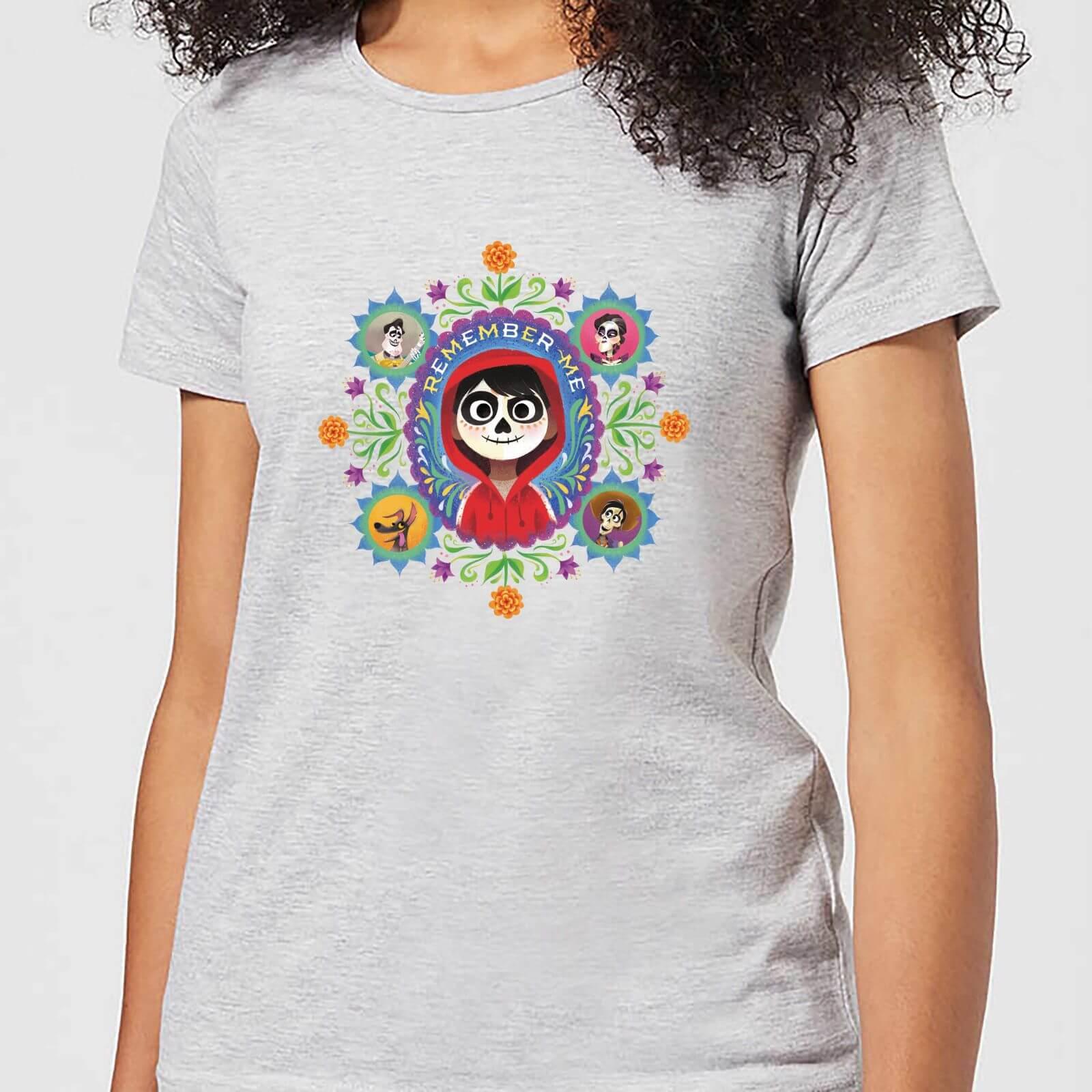 Disney Coco Remember Me Women's T-Shirt - Grey - M - Grey