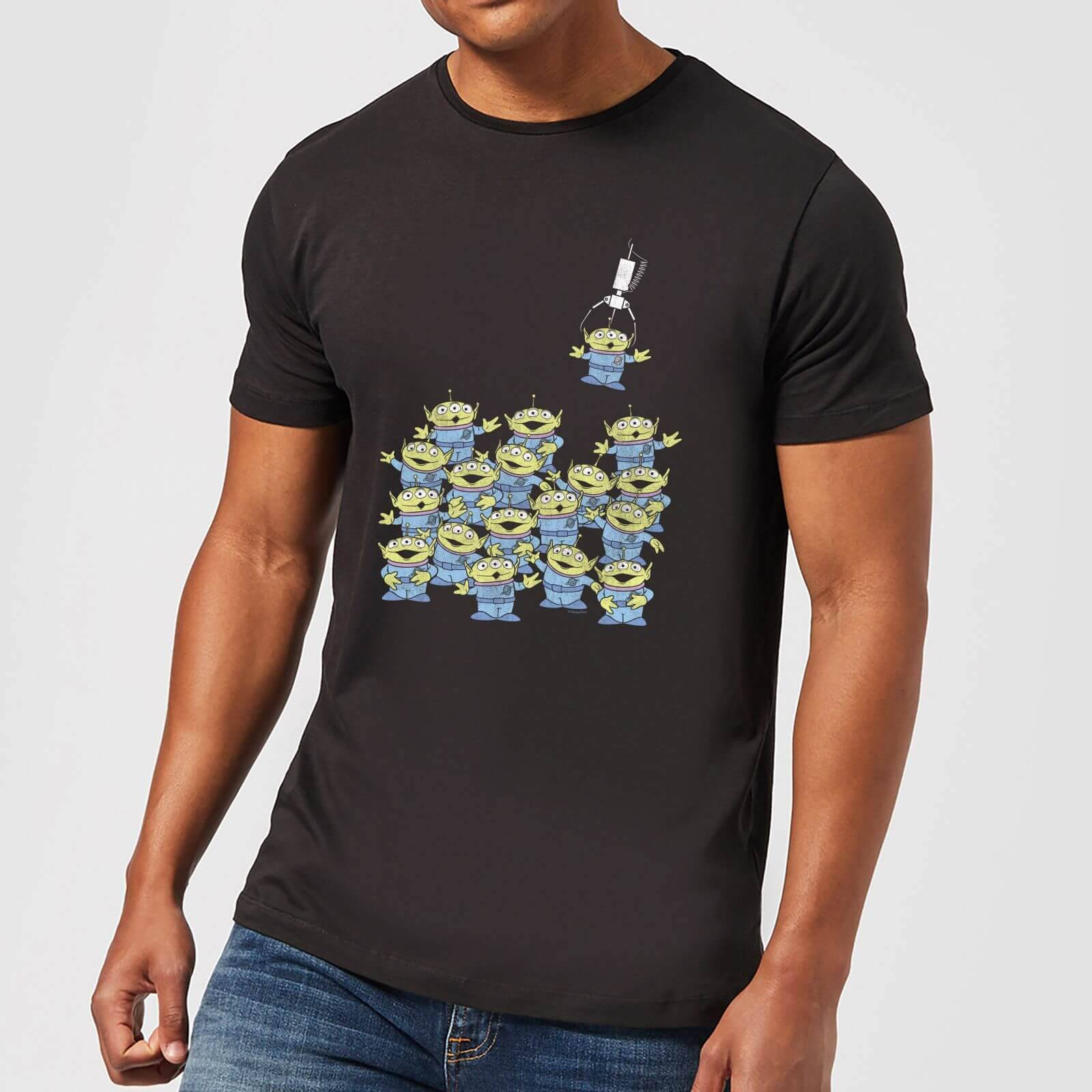 Toy Story The Claw Men's T-Shirt - Black - S - Black